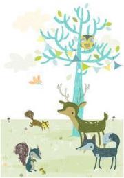 poster la forêt bleue