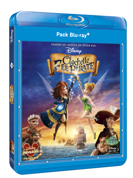 3D BD+ CLochette et la fee pirate