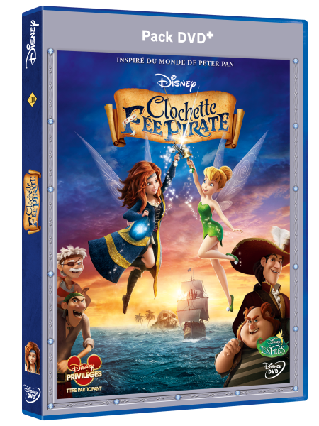 3D DVD+ CLochette et la fee pirate