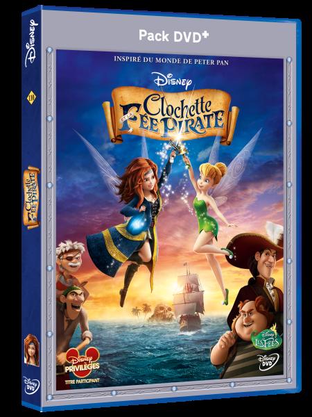 3D DVD+ CLochette et la fee pirate
