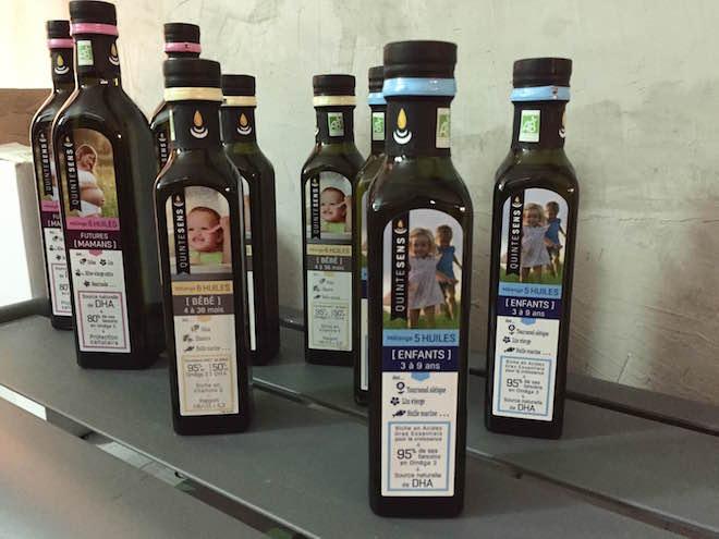 Restaurant Yuman huile Quintesens
