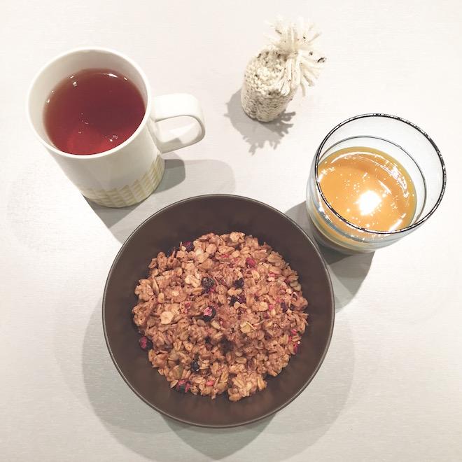 Petit-déjeuner anglais par Monoprix