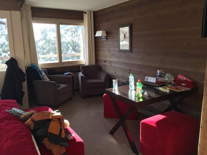 chambre duplec hôtel Le Vanessa Verbier