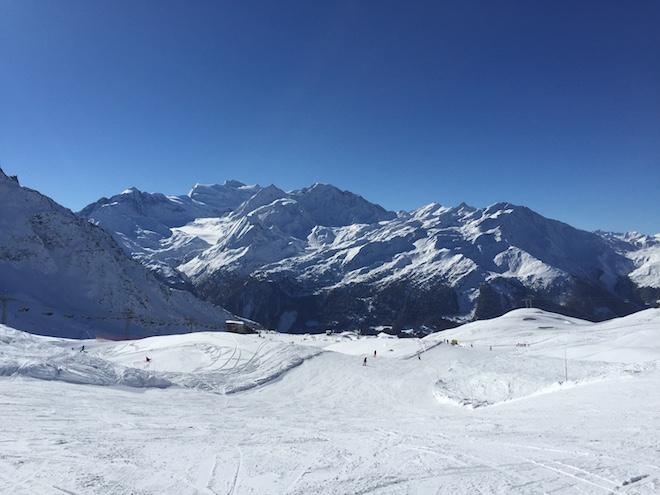Verbier domaine des 4 vallées Val de Bagne