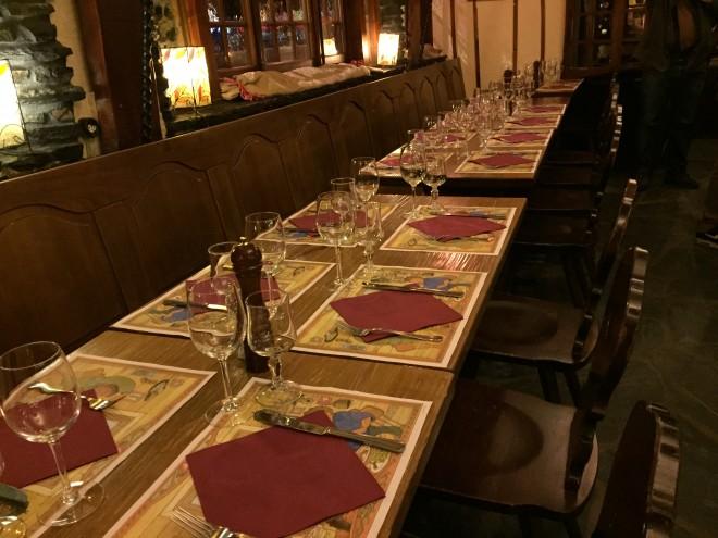 Restaurant Le Caveau Verbier