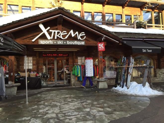 magasin Xtrême Sports Verbier