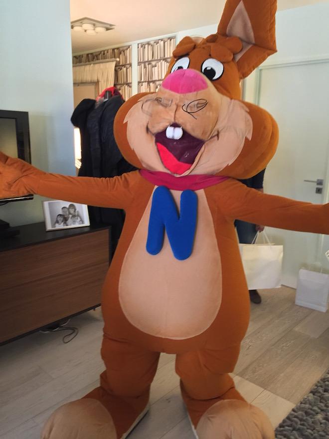 quiky mascote Nesquik