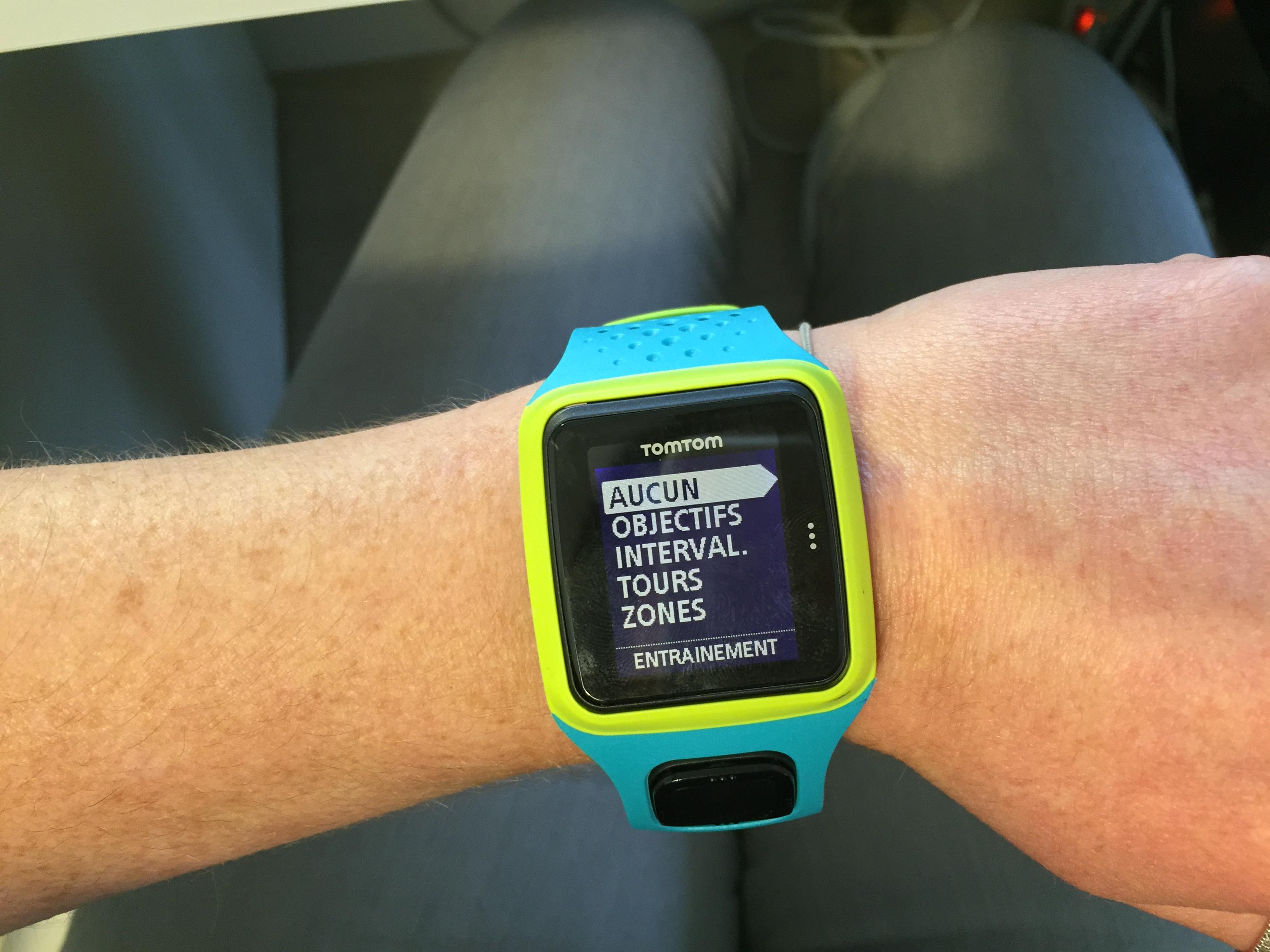 La montre GPS Tomtom Runner