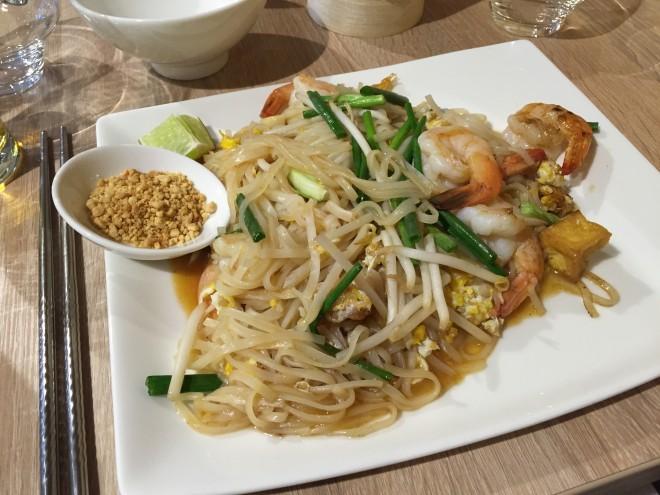 Pas Thaï crevettes IThaï restaurant Thaïlandais Boulogne-billancourt