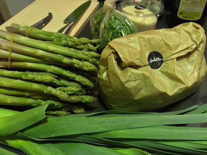 legumes risotto al foodette