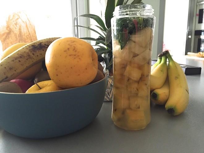 Smoothie ananas rhume