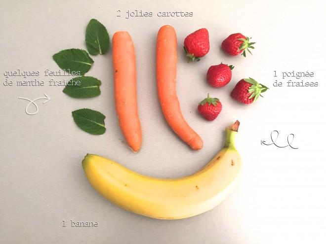 smoothie carotte