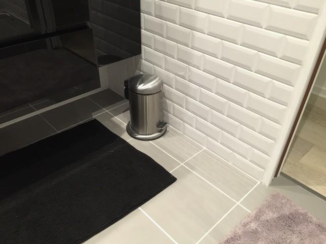 SAlle de douche carrelage métro