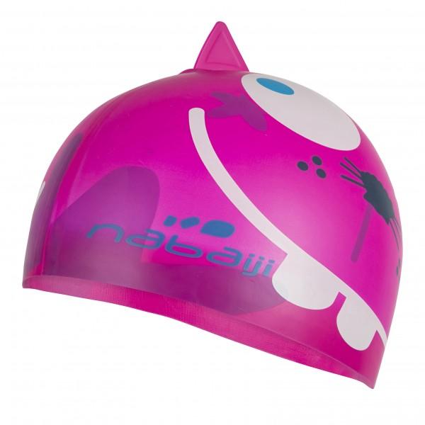Bonnet natation silicone Nabaiji 5,95€.