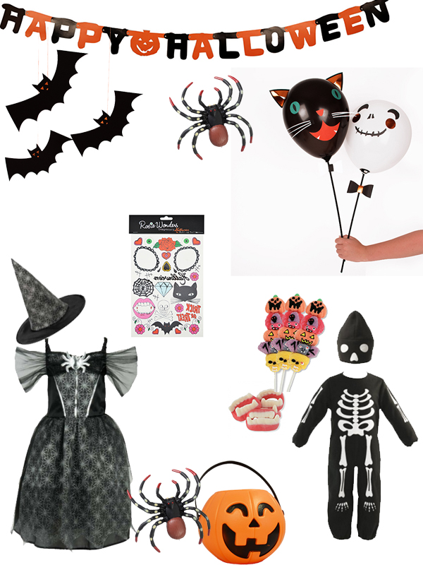 Halloween-shopping