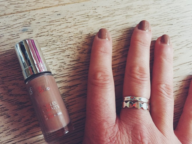 Vernis Ongles parfait Dr Pierre Ricaud gamme Nude Automne 2015