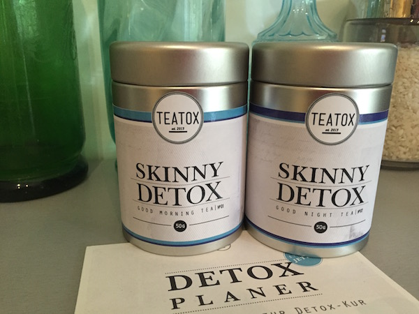 Cure 14 jours Skinny Detox TEATOX