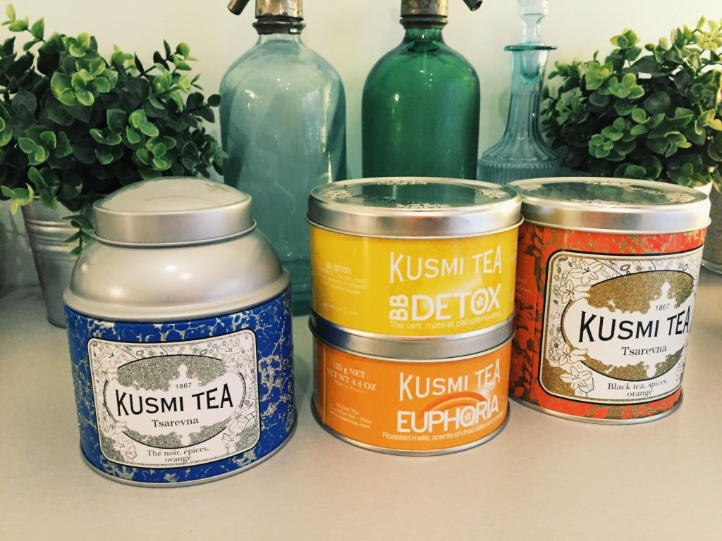Sélection de thé by Kusmi Tea
