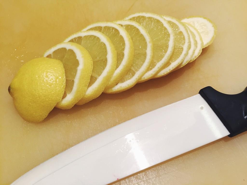 Poulet au citron et son risotto safrané