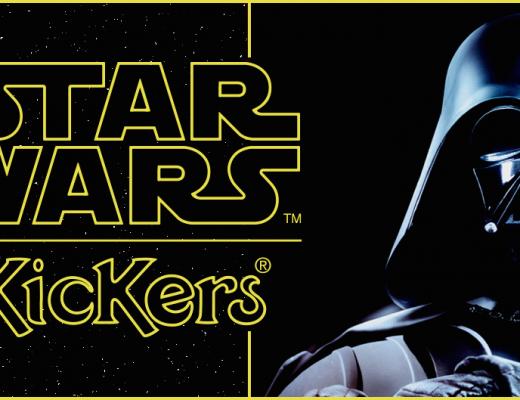 serie limitée star wars chez kickers