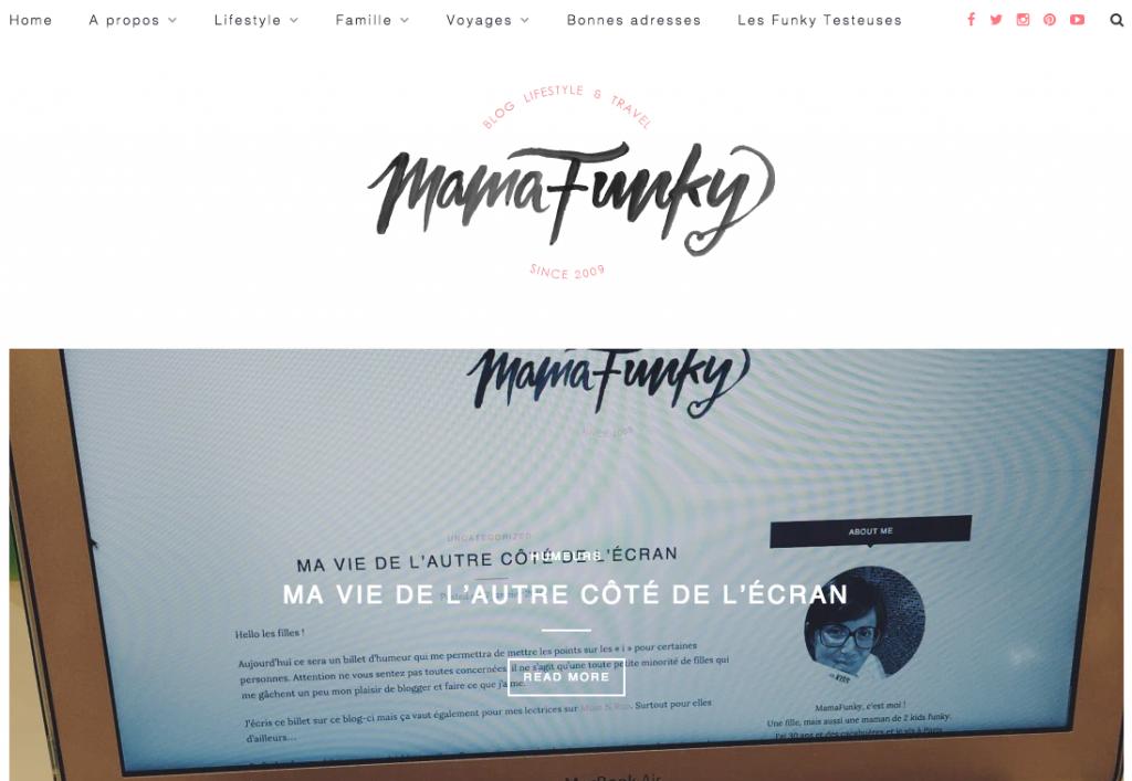 home page le blog de mamafunky