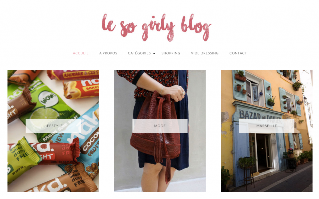 Le so Girly Blog