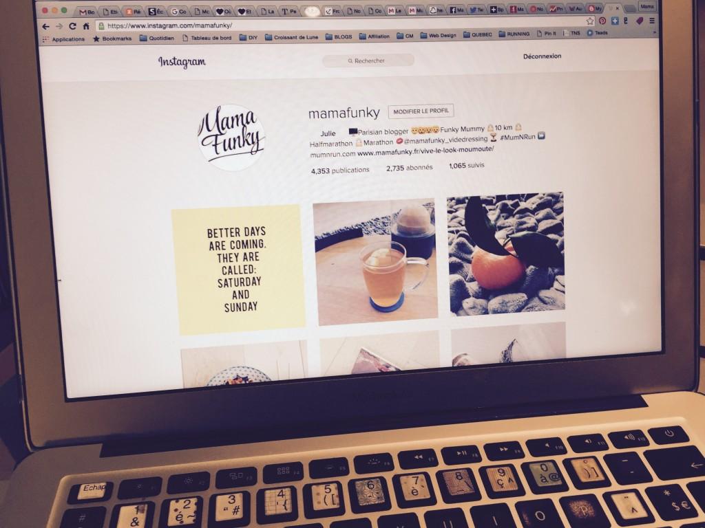 les réseaux sociaux - Instagram