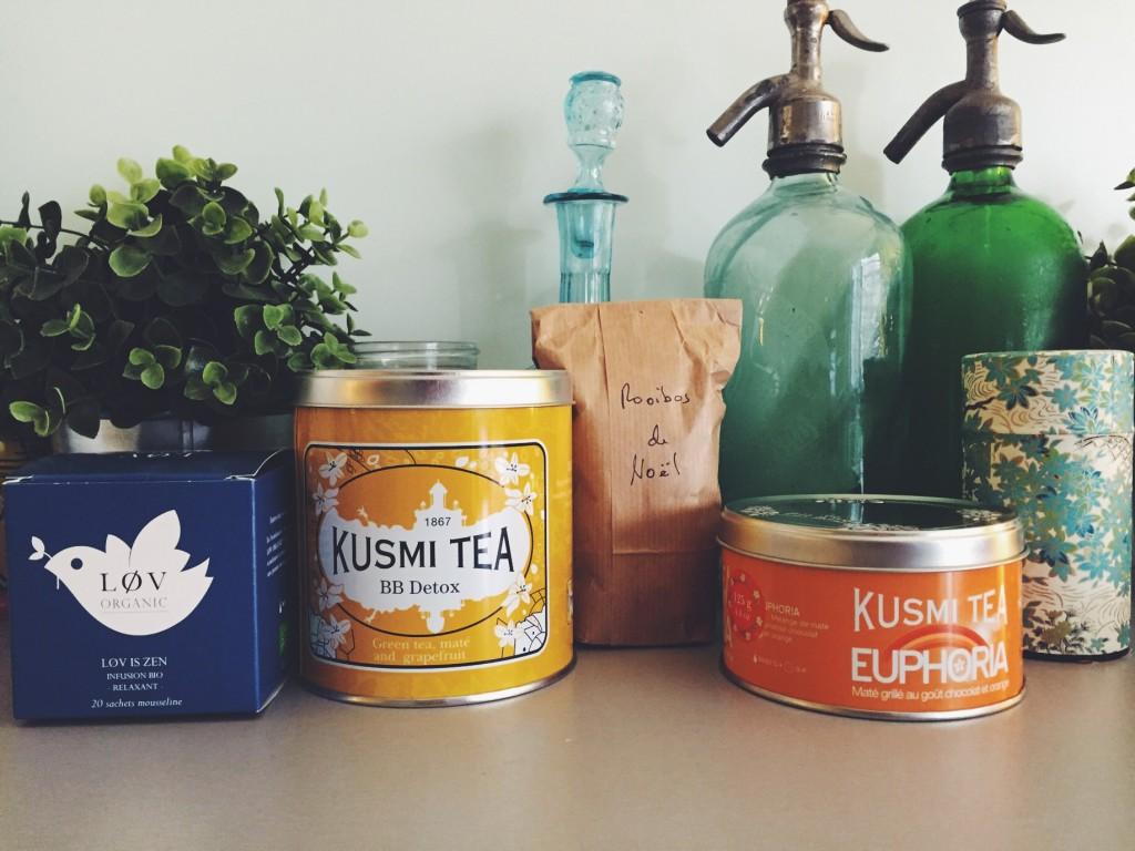 Mes 5 thés préférés