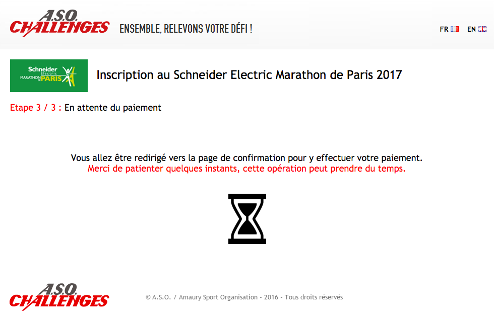 marathon de Paris 2017 Inscriptions