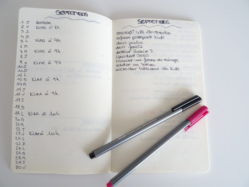 Le Bullet Journal en 10 points
