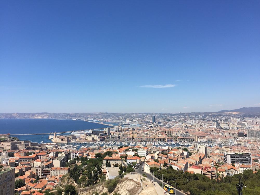 Vue de Marseille La Bonne Mère