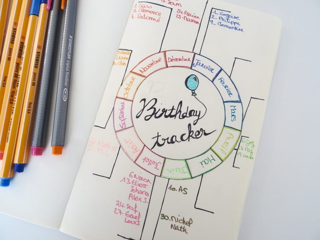birthday tracker