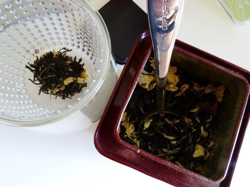 sélection de thés fleuris Dammann Frères