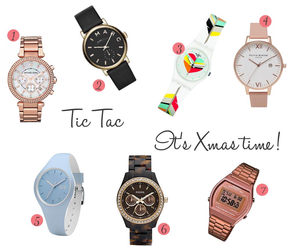selection de montres femmes