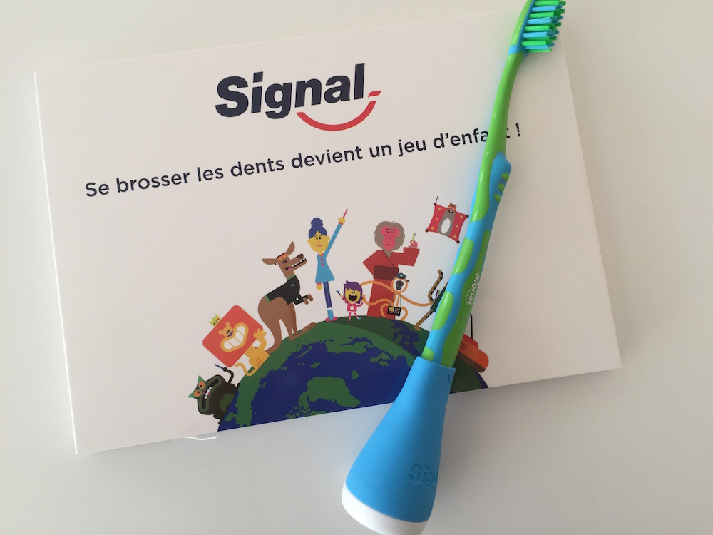 Signal Play Brush : pour laver ses dents en s'amusant