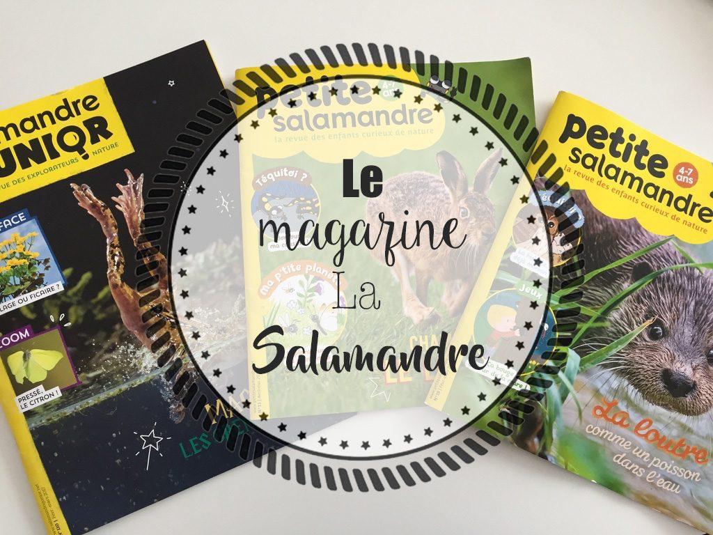 Leur abonnement au magazine La Salamandre [Giveaway Inside]