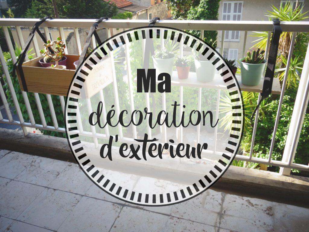 Ma décoration d'extérieur