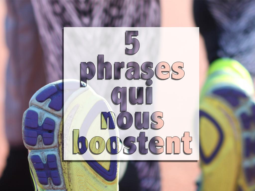 Running : 5 phrases qui nous boostent