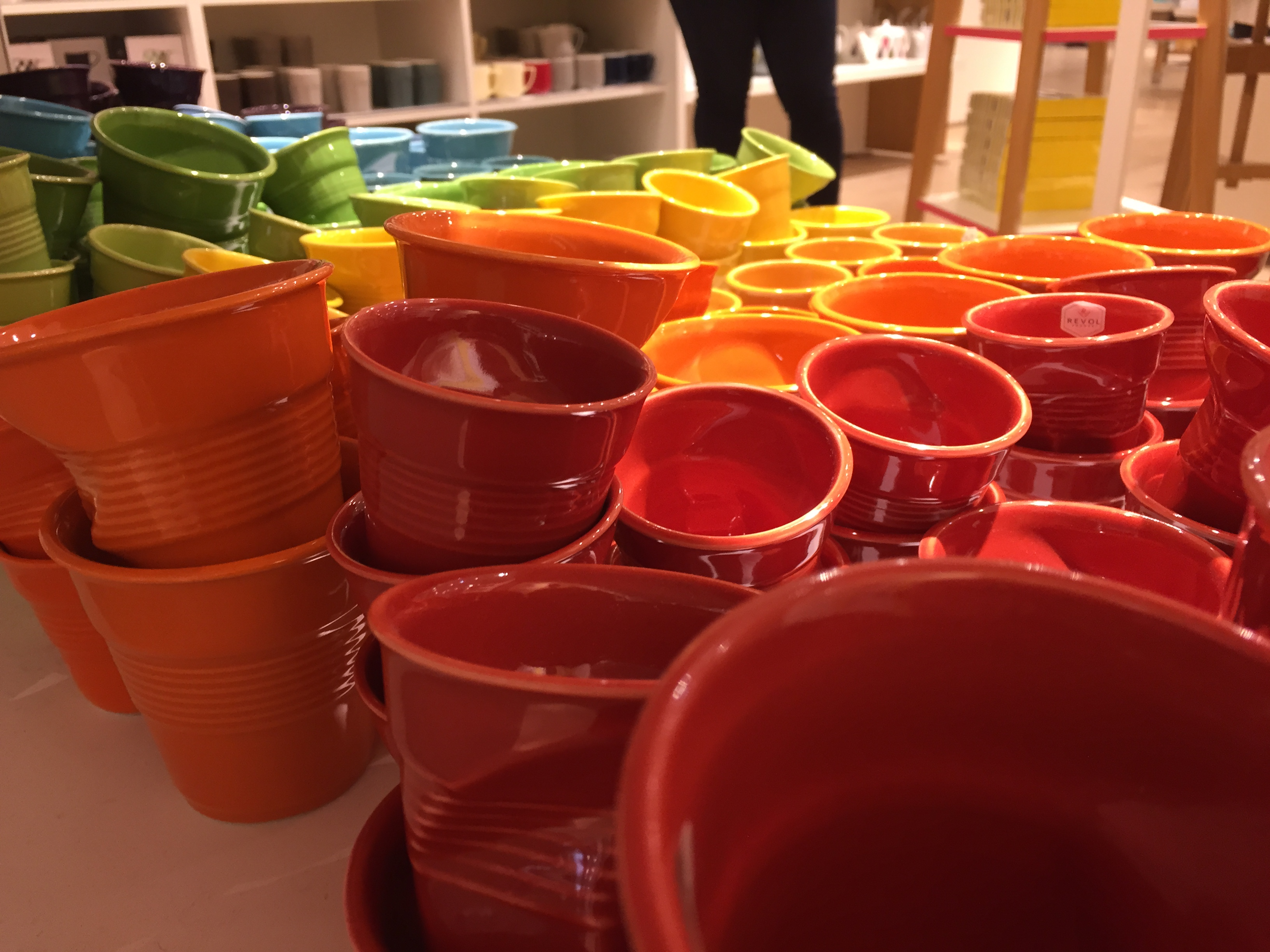 la cuisine prends des couleurs au BHV Le Marais